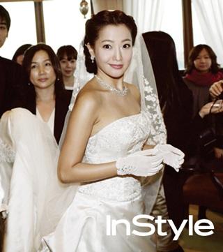 Chiêm ngưỡng bộ ảnh cưới của Kim Hee Sun trên Instyle - 12