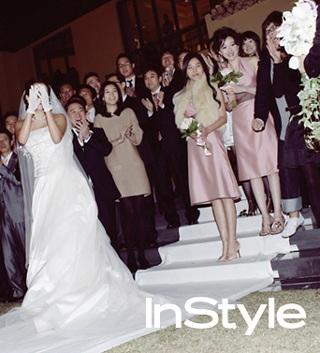 Chiêm ngưỡng bộ ảnh cưới của Kim Hee Sun trên Instyle - 15