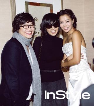 Chiêm ngưỡng bộ ảnh cưới của Kim Hee Sun trên Instyle - 16