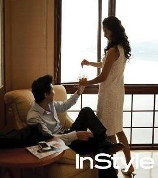 Chiêm ngưỡng bộ ảnh cưới của Kim Hee Sun trên Instyle - 6