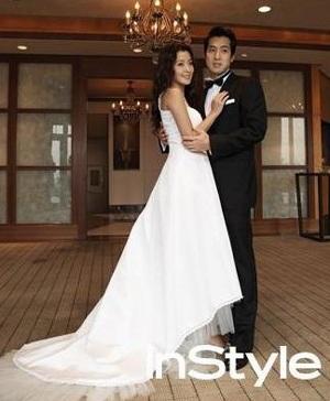 Chiêm ngưỡng bộ ảnh cưới của Kim Hee Sun trên Instyle - 8
