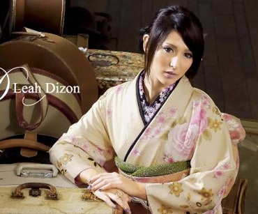 """Bông hồng lai"" Leah Dizon xinh đẹp trong bộ Kimono - 3"