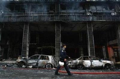 Chùm ảnh: Bạo động tiếp tục lan rộng ở Hy Lạp - 10