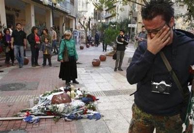 Chùm ảnh: Bạo động tiếp tục lan rộng ở Hy Lạp - 8