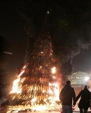 Chùm ảnh: Bạo động tiếp tục lan rộng ở Hy Lạp - 4