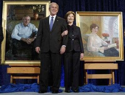 Tiết lộ ảnh chân dung chính thức của vợ chồng Tổng thống Bush - 4