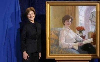 Tiết lộ ảnh chân dung chính thức của vợ chồng Tổng thống Bush - 3