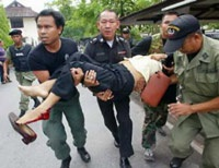 Bom nổ liên tiếp ở miền nam Thái Lan - 1