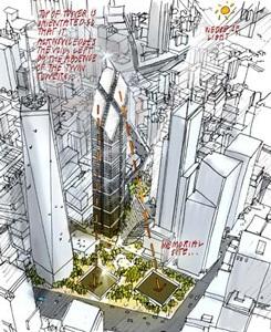 Công bố toàn kế hoạch tái thiết Trung tâm thương mại thế giới - 2