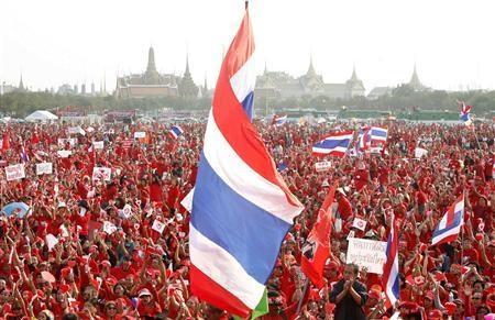 Thái Lan tăng cường an ninh đối phó với biểu tình  - 1