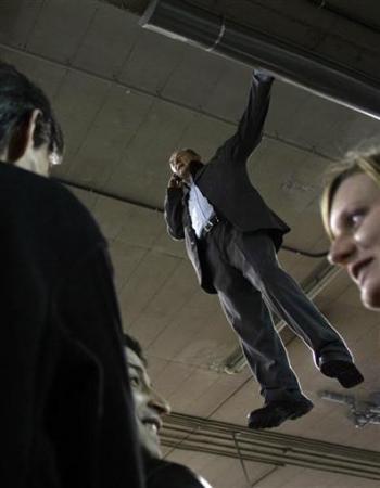 Chùm ảnh: Người bay ở nhà ga Madrid - 3
