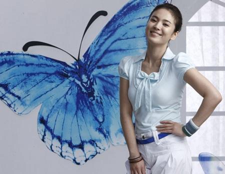 Nét đáng yêu của Song Hye Kyo  - 12