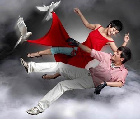 La Gia Lương đưa vợ sắp cưới về Hồng Kông - 1
