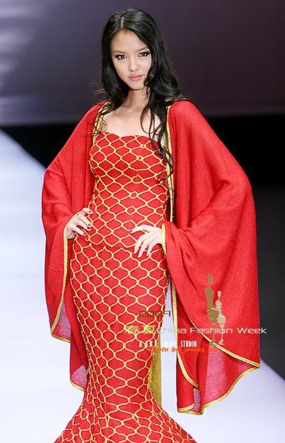 Hoa hậu Trương Tử Lâm trở lại sàn diễn - 2