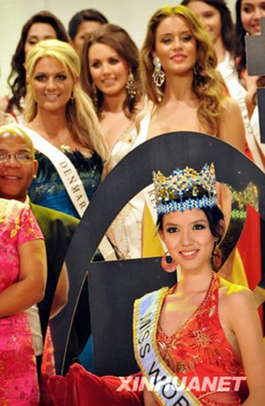 Chiêm ngưỡng bộ ảnh quảng cáo của Hoa hậu Thế giới 2007 - 9