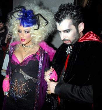 """Thời trang của """"sao"""" trong đêm Halloween - 1"""