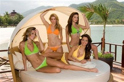 """Mỹ nhân sẵn sàng cho phần thi bikini """"nóng bỏng"""" - 2"""