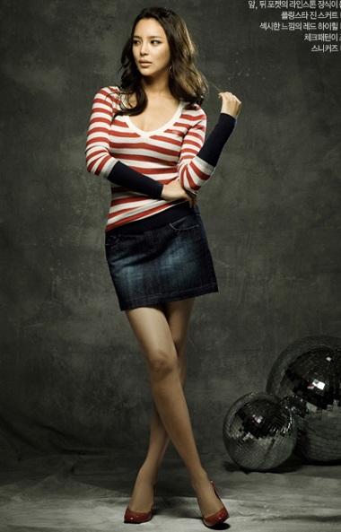 Cựu hoa hậu Park Shi Yeon khoe dáng - 10
