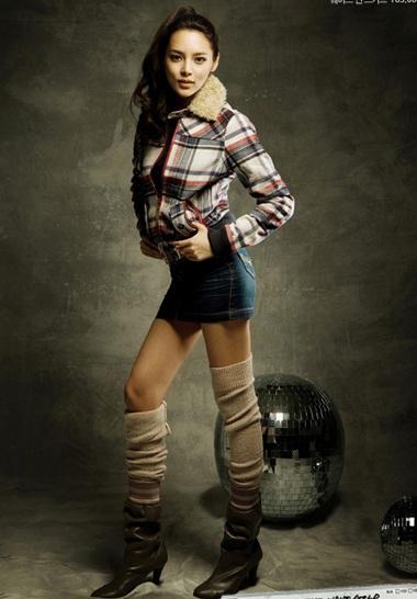 Cựu hoa hậu Park Shi Yeon khoe dáng - 5