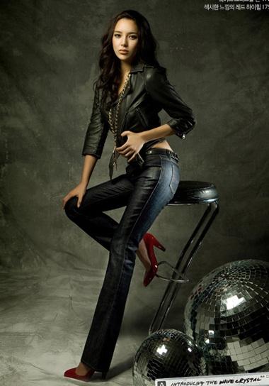 Cựu hoa hậu Park Shi Yeon khoe dáng - 7