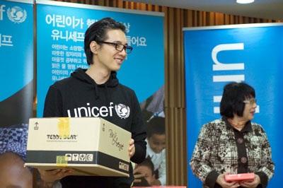 Won Bin đón Giáng Sinh bằng hoạt động từ thiện - 2