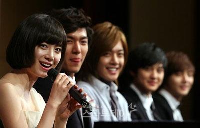 Nhóm F4 xứ Hàn tổ chức buổi họp báo đầu tiên - 4