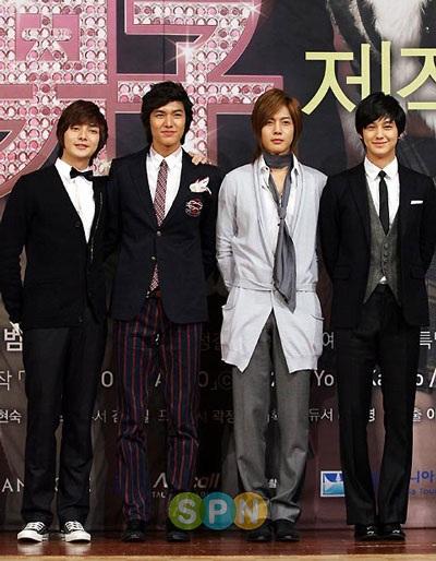 Nhóm F4 xứ Hàn tổ chức buổi họp báo đầu tiên - 5