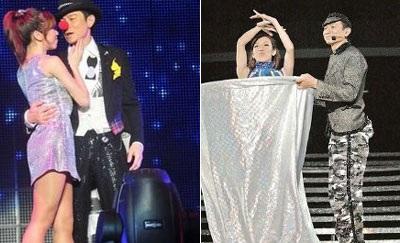 Bạn gái đưa con tới dự live show của Lưu Đức Hoa - 4