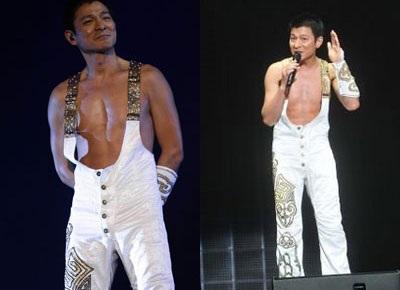 Bạn gái đưa con tới dự live show của Lưu Đức Hoa - 5
