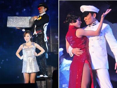 Bạn gái đưa con tới dự live show của Lưu Đức Hoa - 6