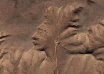 Chùm ảnh: Mặt người trên núi đá - 11