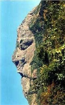 Chùm ảnh: Mặt người trên núi đá - 6
