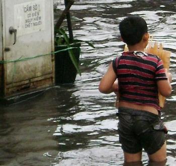 """""""TPHCM ngập sau mưa là đương nhiên"""" - 1"""