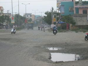 """Những đoạn đường """"kinh hoàng"""" ở Đà Nẵng - 3"""