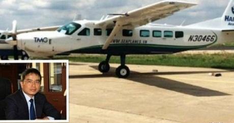Ông Kiên mua riêng 2 chiếc thuỷ phi cơ có trị giá 45 tỉ đồng