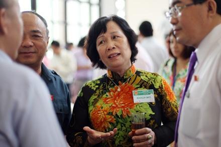 Bộ trưởng Phạm Thị Hải Chuyền nhận nhiều câu hỏi nghi vấn về các thành tích đạt được của ngành.