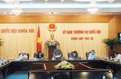 Phiên thảo luận về dự thảo luật Hộ tịch nóng ran Thường vụ Quốc hội.