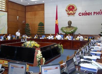 Sáng 13/8, phiên họp về chuyên đề xây dựng pháp luật của Chính phủ tiếp tục diễn ra.