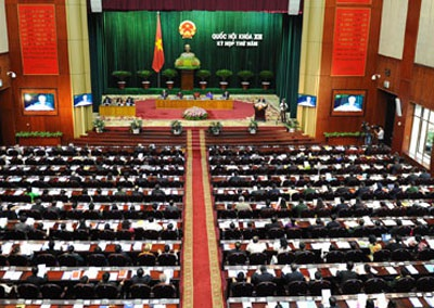 Quốc hội sẽ bấm nút biểu quyết việc thông qua dự thảo Hiến pháp sửa đổi vào ngày 28/11 tới