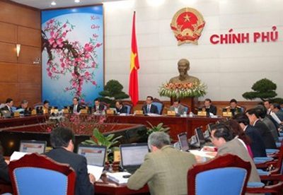 Chính phủ họp phiên đầu tiên trong năm 2014 trong những ngày cận Tết.