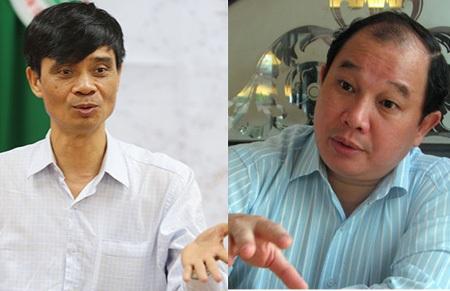 Thứ trưởng Phạm Quý Tiêu (trái) và Nguyễn Cẩm Tú được Thủ tướng tái bổ nhiệm.