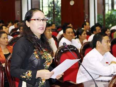 Đại biểu Đặng Thị Kim Chi ủng hộ quan điểm cho phép mang thai hộ.