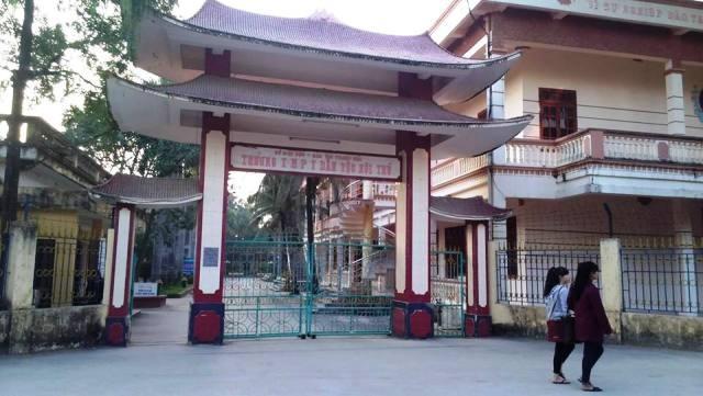 Trường THPT Dân tộc nội trú tỉnh Thanh Hóa- nơi bị tố cắt xén tiền thưởng của học sinh