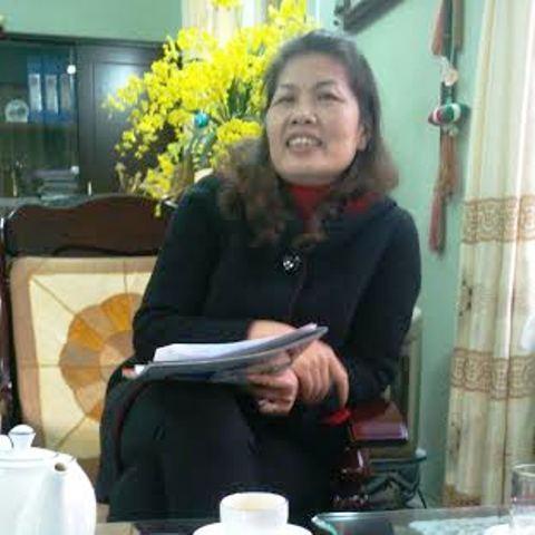 Bà Phạm Thị Hà, Hiệu trưởng trường THPT Dân tộc nội trú tỉnh Thanh Hóa