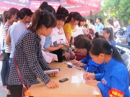 Các điểm thi sẽ bố trí tình nguyện viên giúp thí sinh tìm nơi ăn, chốn ở