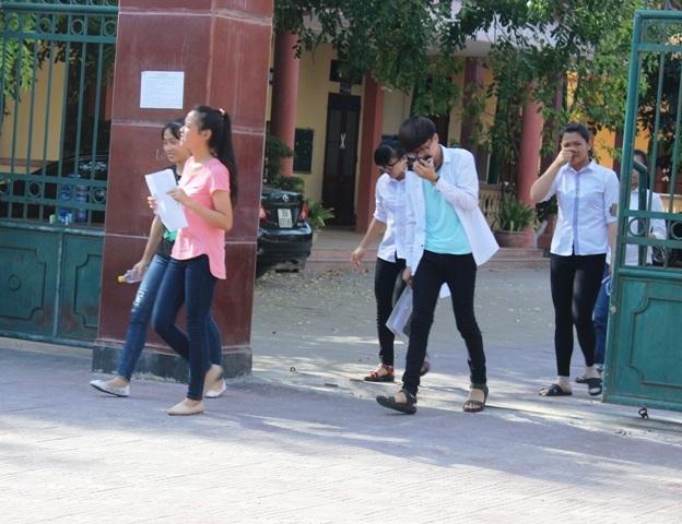 Thí sinh tại Thanh Hóa kết thúc ngày thi thứ 3.