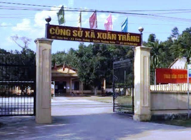 Xã Xuân Thắng- nơi cán bộ ỉm tiền hỗ trợ mua trâu bò cho hộ nghèo