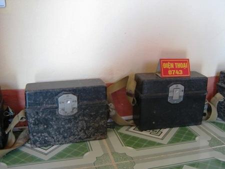 Một số kỷ vật, vũ khí còn được lưu giữ lại thời chiến tranh