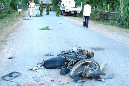 3 thanh niên tử nạn trên đường về thăm quê