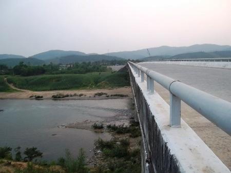Cầu Đò Vàng, nơi nữ sinh Tr. có ý định nhảy cầu tự tử